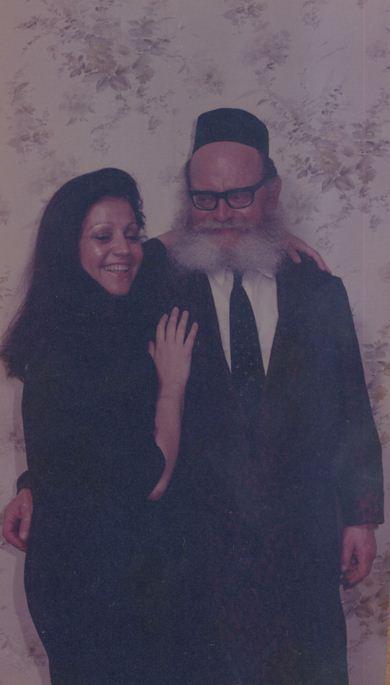 Nechama mit Ihrem Vater Rabbi Zvi Kahana